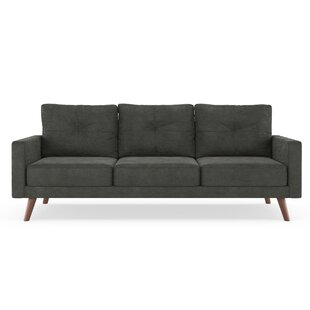 Compare Courtney Microsuede Sofa by Foundry Select Reviews (2019) & Buyer's Guide