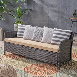 Corchado Patio Sofa with Cushion