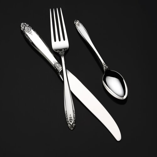 International Silver Sterling Silver Prelude Dinner Knife Wayfair