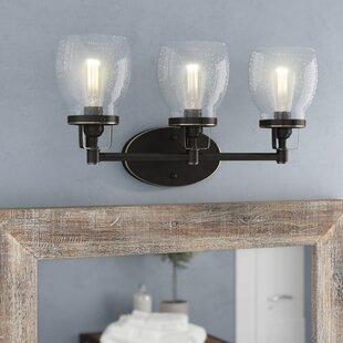 Best Panorama Point Heirloom Bronze 3-Light Vanity Light By Trent Austin Design