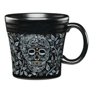 Tapered Mug Skull and Vine