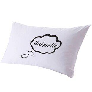 Personalized Thinking While I Sleep Pillow Case