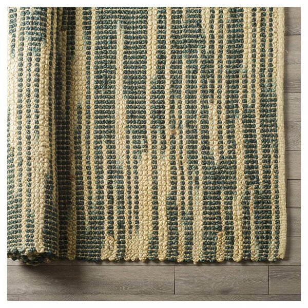 Gracie Oaks Hazlet Hand Woven Green Area Rug Wayfair