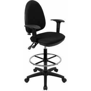 Krull Mid-Back Drafting Chair by Symple Stuff New Design