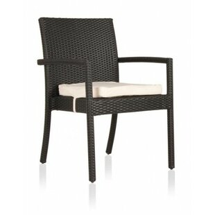Jevon Patio Dining Chair with Cushion