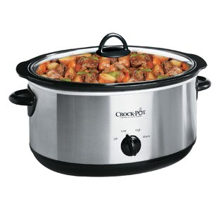7 Qt. Crock-Pot Manual Slow Cooker
