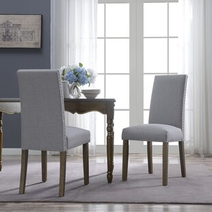 Gray Wingback Dining Chair | Wayfair