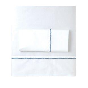 Ashton 350 Thread Count 100% Cotton Sateen Pillowcase (Set of 2)