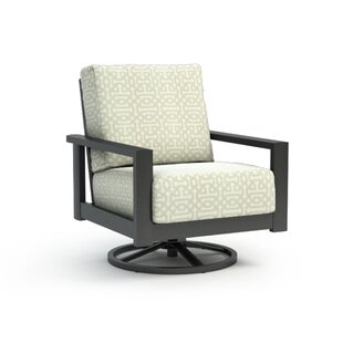 Kayleigh Swivel Patio Chair with Cushion