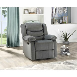 Act Suede Manual Recliner