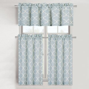 Blue Kitchen Curtains | Country Blue Kitchen Curtains Wayfair