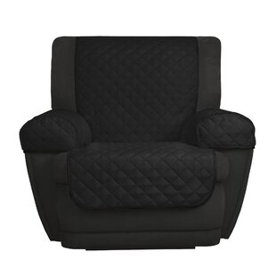 Reversible Microfiber 3 Piece Box Cushion Recliner Slipcover Set