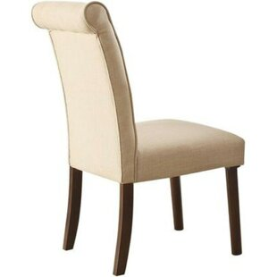 Effie Upholstered Dining Chair by Alcott Hill Top Reviews