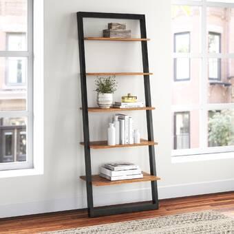 Foundstone Zachary 64 H X 30 W Metal Standard Bookcase Reviews Wayfair