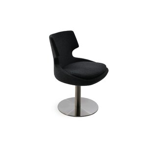 Elrod Swivel Upholstered Dining Chair