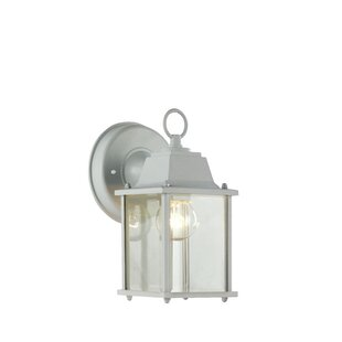 Outdoor wall lights flush mounts joss main ember 1 light outdoor wall lantern aloadofball Choice Image