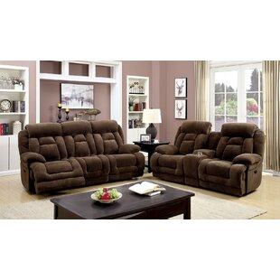 Grier 2 Piece Reclining Living Room Set