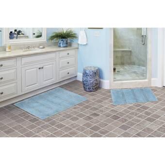 Ebern Designs Secondo Rectangle Nylon Non Slip 2 Piece Bath Rug Set Reviews Wayfair