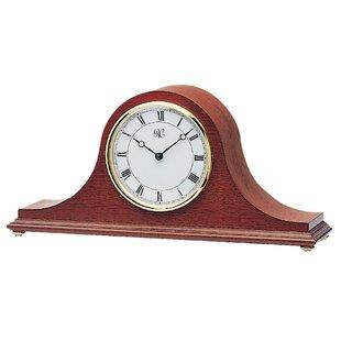 Red mantel clock