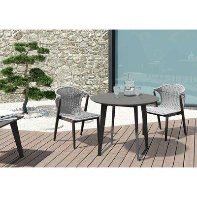 Salaam Stone/Concrete Coffee Table by Orren Ellis New Design