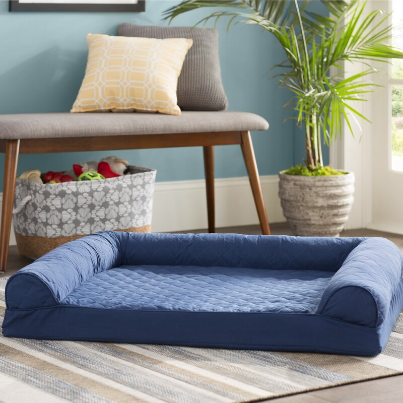Bernice Quilted Orthopedic Dog Sofa