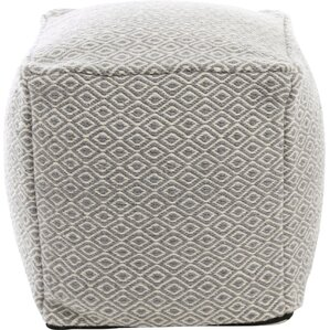 Best Home Fashion, Inc. Diamond Pattern Pouf Ottoman