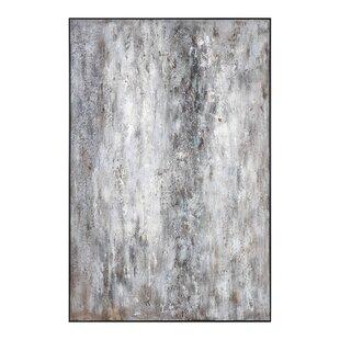 'Quake Modern' Framed Painting Print