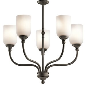 Kayleigh 5-Light Shaded Chandelier