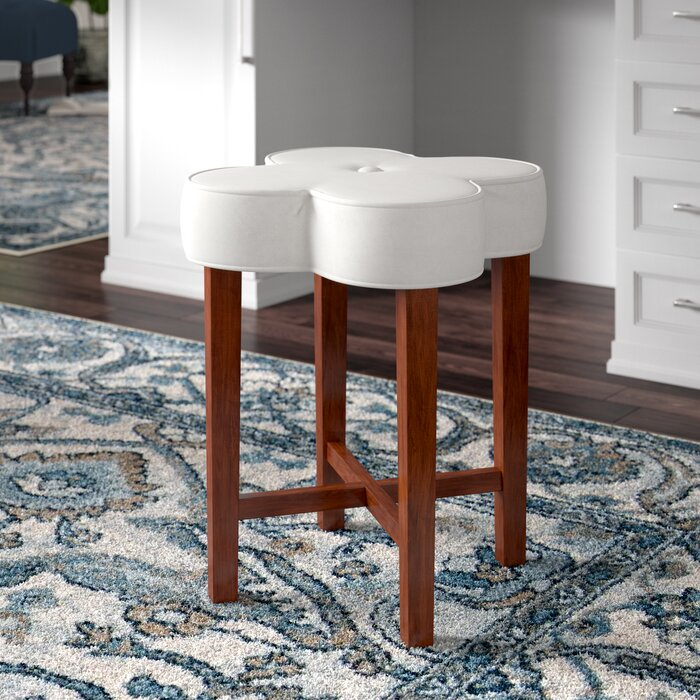 Fine Pehrson Vanity Stool Squirreltailoven Fun Painted Chair Ideas Images Squirreltailovenorg