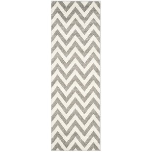Currey Gray/Beige Indoor/Outdoor Area Rug by Mercer41