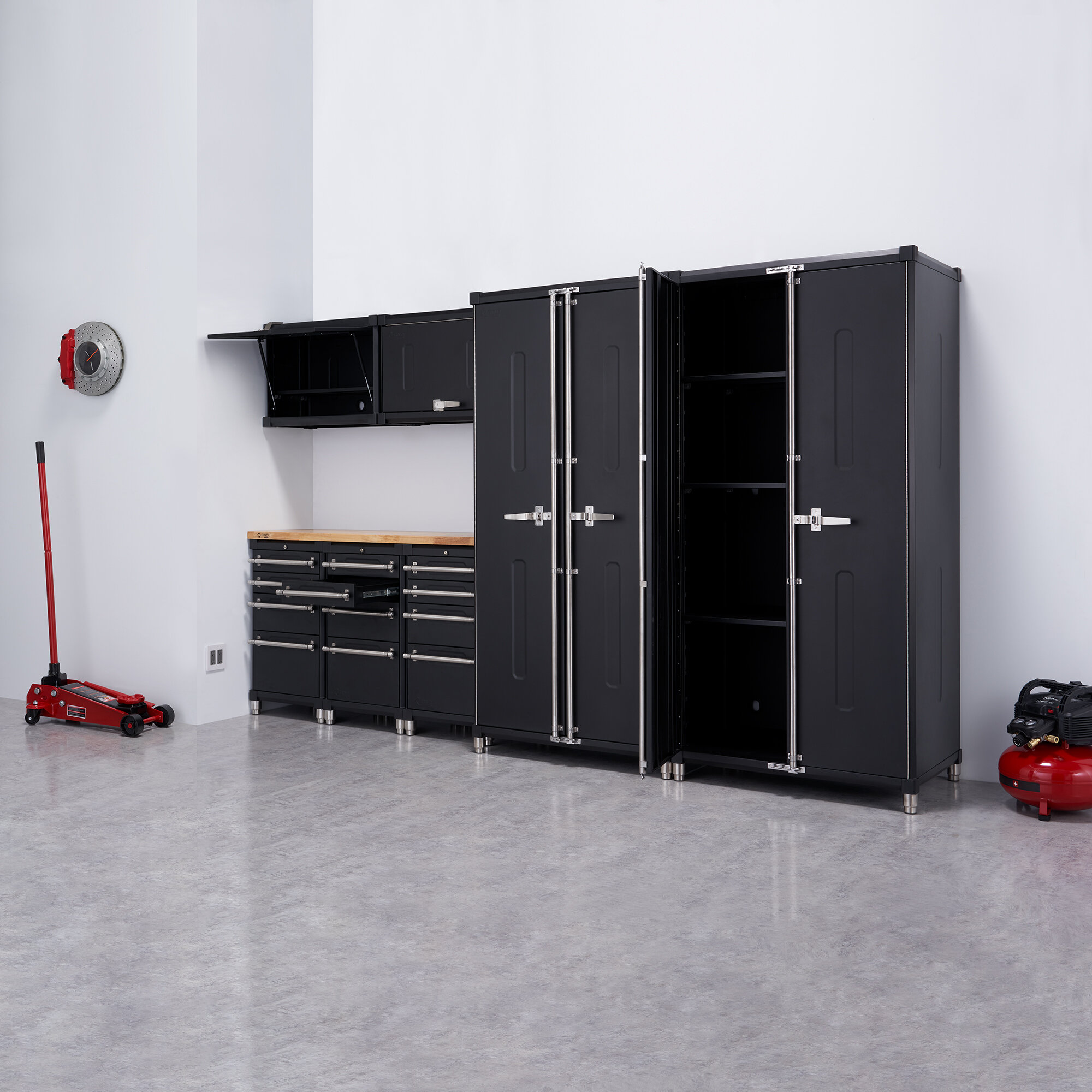 Tall Over 72 In Garage Storage Cabinets Utilities You Ll Love In 2021 Wayfair
