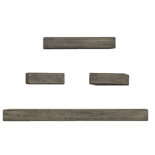 Chunky 4 Piece Wall Shelf Set