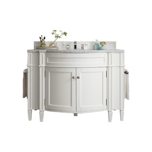 Brittany 46 Single Bathroom Vanity Base by James Martin Furniture