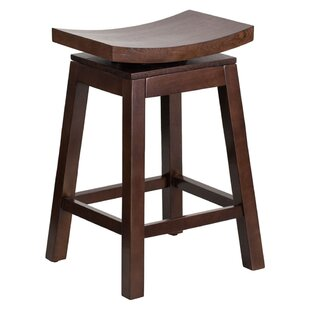Friso High Saddle 26.25 Swivel Bar Stool