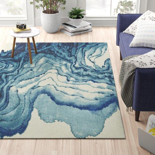 Blue Watercolor Rug Wayfair