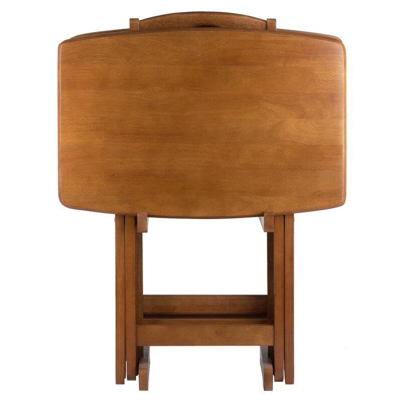 Berke 5 Piece Tray Table Set  sc 1 st  Wayfair & Darby Home Co Berke 5 Piece Tray Table Set   Wayfair