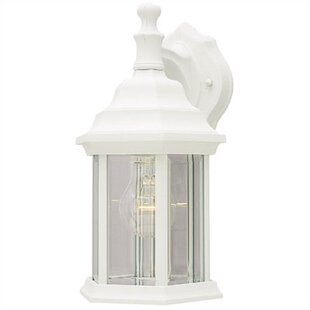 Mckinney Exterior Outdoor Wall Lantern (Set of 2) By Charlton Home
