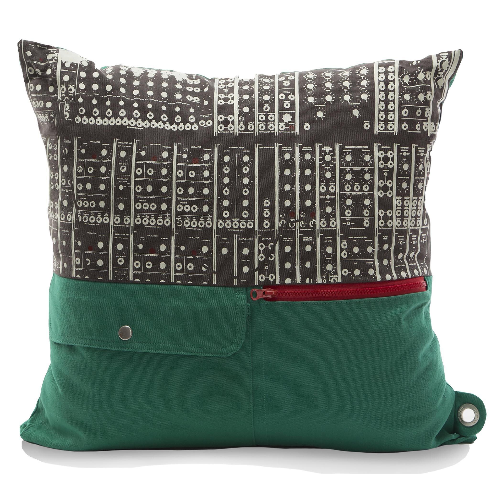Merveilleux Stellacci Storage Throw Pillow