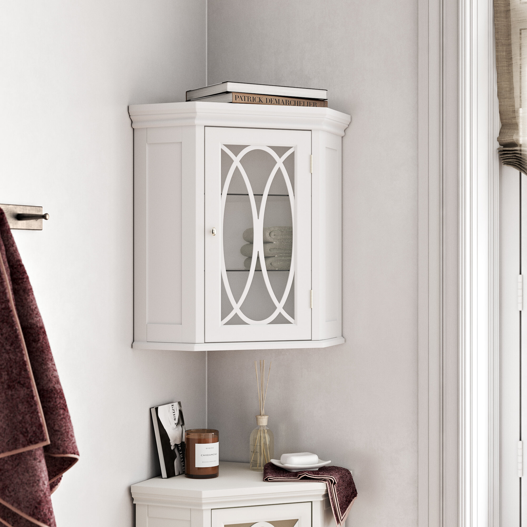 Corner Wall Mounted Bathroom Cabinets Shelving You Ll Love In 2021 Wayfair