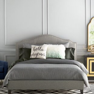 Reviews Roselawn Upholstered Platform Bed by Darby Home Co Reviews (2019) & Buyer's Guide