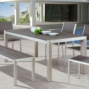 Montiel Aluminum Picnic Bench by Brayden Studio Great Reviews