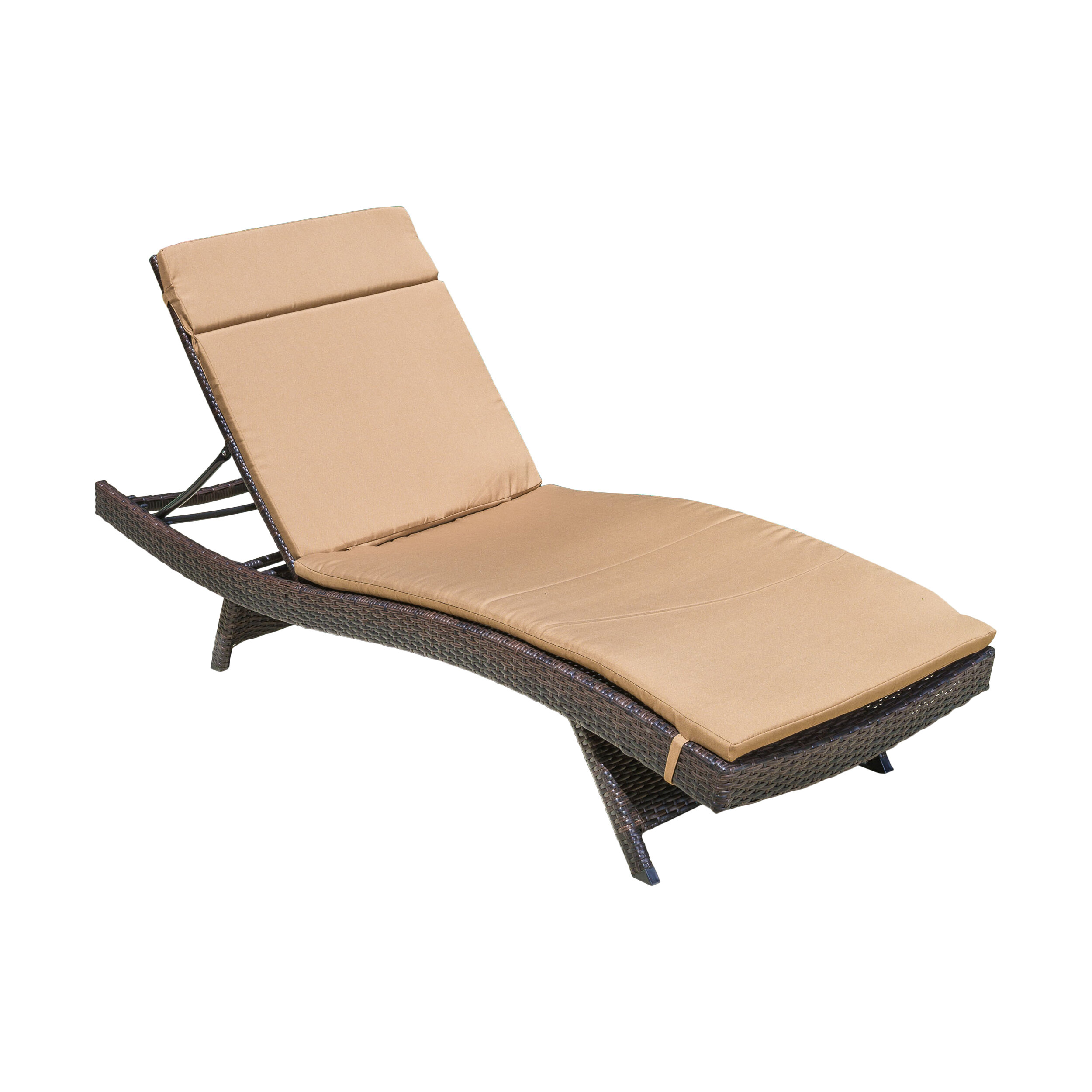 Sol 72 Outdoor Rebello Chaise Lounge With Cushion Wayfair