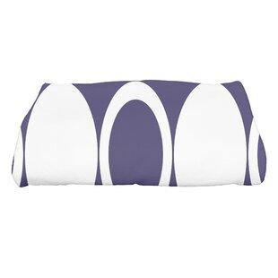 Hassett Mod Circles Geometric Print Bath Towel