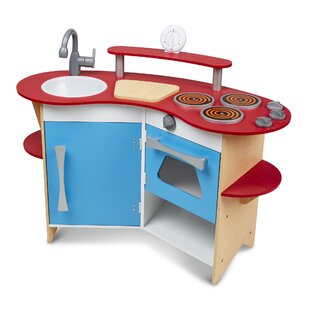 Cook's Corner Wooden Kitchen by Melissa & Doug