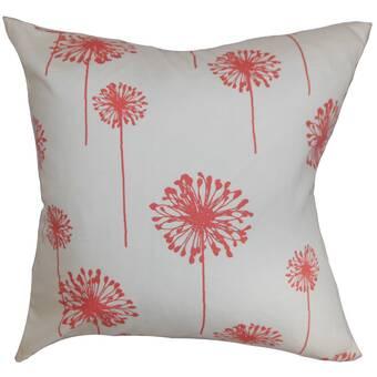 Dakota Fields Brinsley Floral Bedding Sham Wayfair