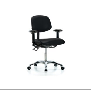 Read Reviews Desk Height Ergonomic Office Chair by Blue Ridge Ergonomics