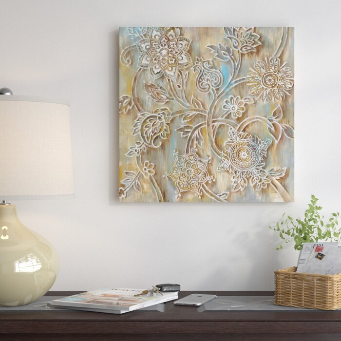 East Urban Home Henna In Zoom Painting Print On Canvas Wayfair Ca