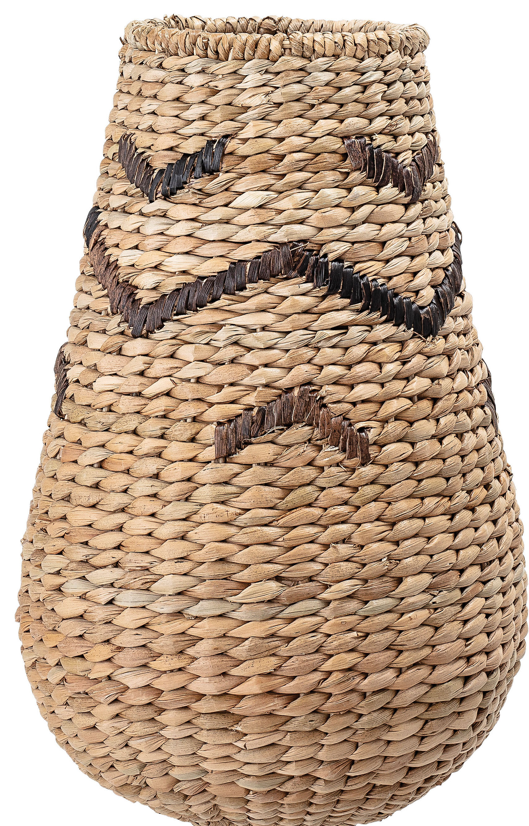 Small Tall Wicker Basket