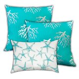 Dunadry Sea Stars Swimming Outdoor Rectangular Cushion with filling