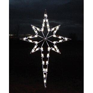 Large Star Of Bethlehem Lighted Display